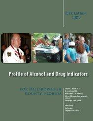 Profile of Alcohol and Drug Indicators- Hillsborough County