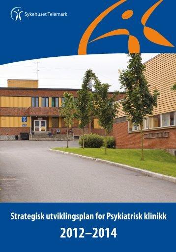 Strategisk utviklingsplan for Psykiatrisk klinikk - Sykehuset Telemark