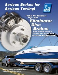 Eliminator Disc Brakes Eliminator Disc Brakes - Triad Trailers