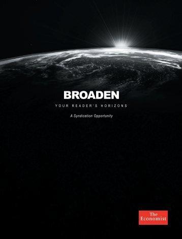 BROADEN - The Economist