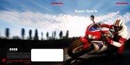 Superbikes Brochure - Honda South Africa