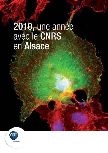 Télécharger la brochure - CNRS Alsace