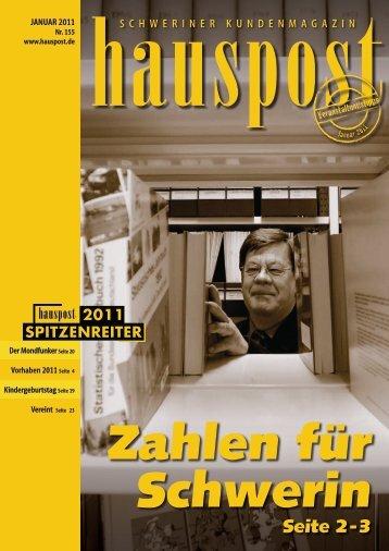 SCHWERIN IN ZAHLEN - Hauspost