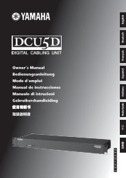 DCU5D Owner's Manual