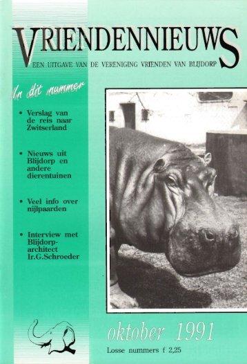 1991-13-03 - Vrienden van Blijdorp