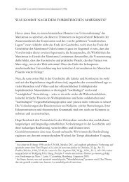was kommt nach dem fordistischen marxismus? - Wolfgang Fritz Haug