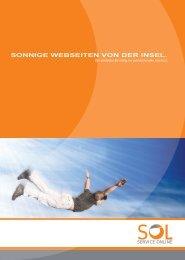 SONNIGE WEBSEITEN VON DER INSEL. - SOL.Service Online