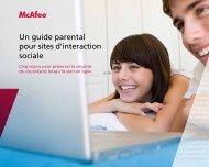 Un guide parental pour sites d'interaction sociale - Dell