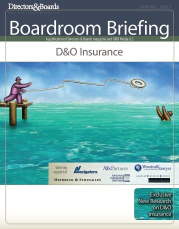 D&O Insurance - Directors & Boards