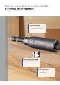 Unbeatable break resistance: Bosch Diamond Impact Bits - Page 4