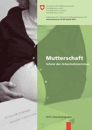 Schutz der Arbeitnehmerinnen bei Mutterschaft