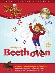 Leichte Bearbeitungen für Klavier Ludwig van - Heumannpiano.de
