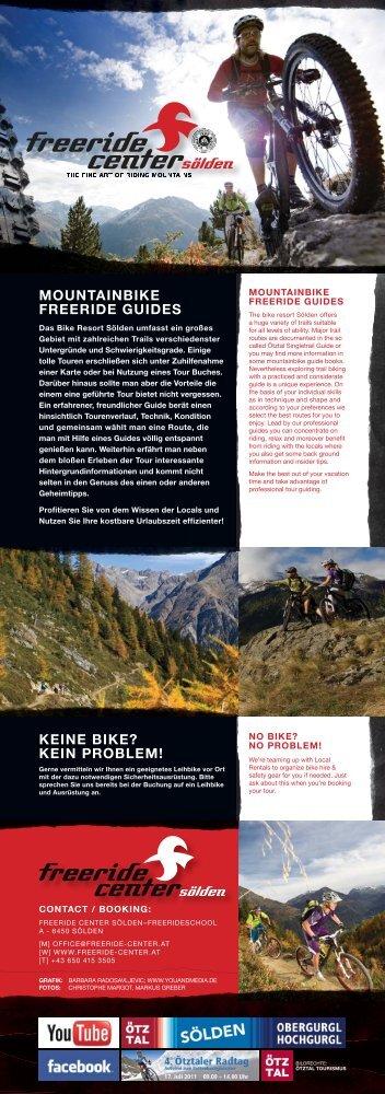 mountainbike freeride guides keine bike? kein problem! - Sölden