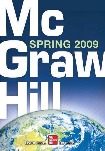 contents - McGraw-Hill Books