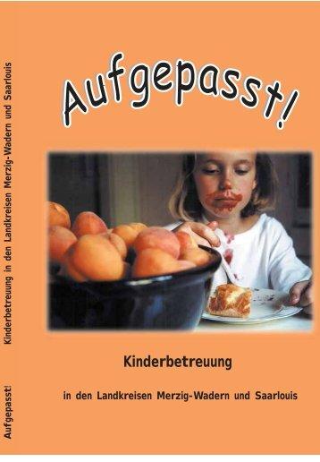Kinderbetreuung - Landkreis Merzig-Wadern