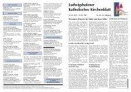 Ludwigshafener Katholisches Kirchenblatt - Dekanat-lu.kirche.org