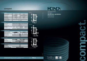 Gehen Sie ins Detail! - Heinen freezing Gmbh & Co. KG