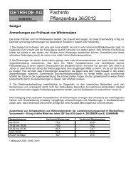 Fachinfo 36-2012 - Getreide AG