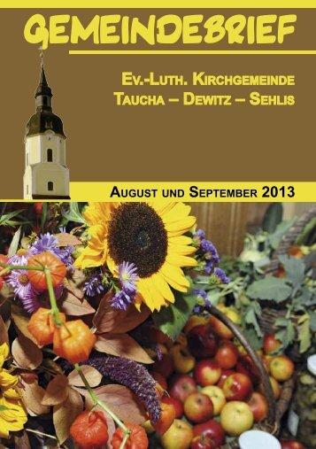 August/September - St. Moritz Taucha