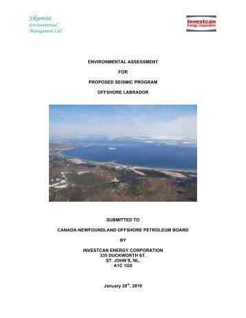 Sikumiut - Canada-Newfoundland Offshore Petroleum Board