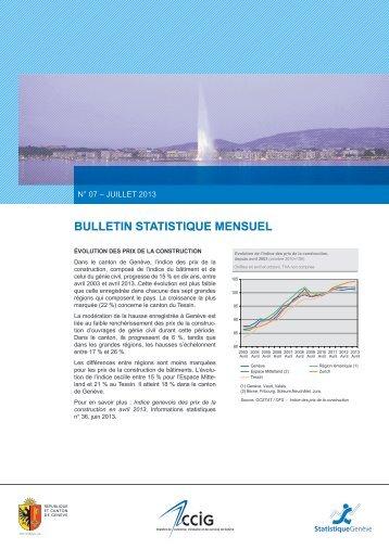 bulletin statistique mensuel - CCIG