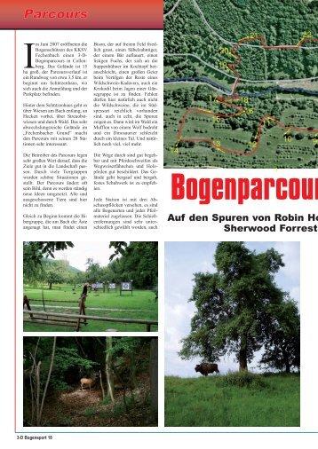 Parcours Collenberg - Bogensportverlag