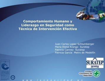 Comportamiento humano y liderazgo - Consejo Colombiano de ...