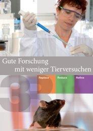 Gute Forschung mit weniger Tierversuchen - beim Bundesamt für ...