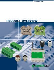 PRODuCT OvERvIEW - CONTA-CLIP
