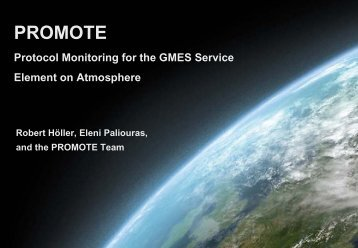 promote-2 - European Topic Centre on Air Pollution and Climate ...