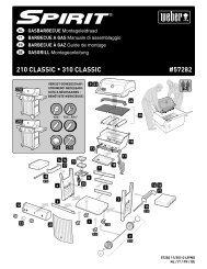 Aufbauanleitung Spirit Classic E 210 / E 310