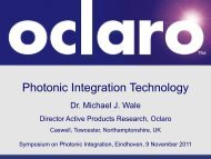 Photonic Integration Technology - JePPIX