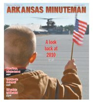 January - Arkansas National Guard