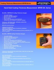 Hand Held Coating  Thickness Measurement MP0R SK- Series