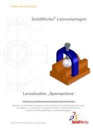 Deckblatt Spannprisma - The SolidWorks Blog
