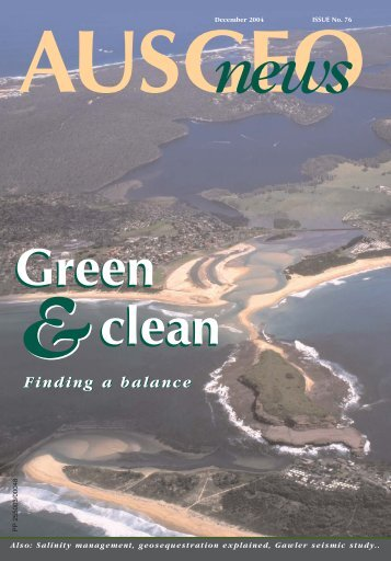 AusGeo News 76 - Geoscience Australia
