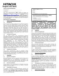 Directe Koopovereenkomst - Hitachi Data Systems