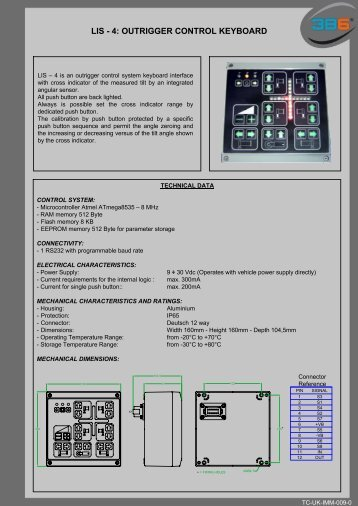 LIS - 4: OUTRIGGER CONTROL KEYBOARD - 3b6.it