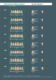 Carta de formas de dientes neo.lign A Sup./Inf ... - Bitdental.com