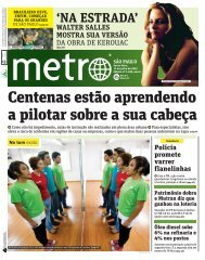 Jornal Metro de 13-07-12