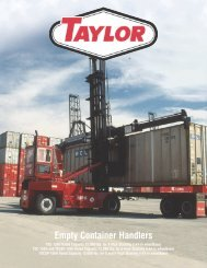 Empty Container Handlers - Taylor Machine Works
