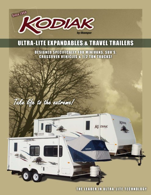 2009 Kodiak Brochure.pdf - Dutchmen RV