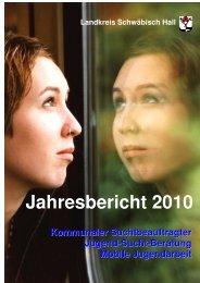 Weiter zum Jahresbericht 2010 - Suchthilfe-sha.de