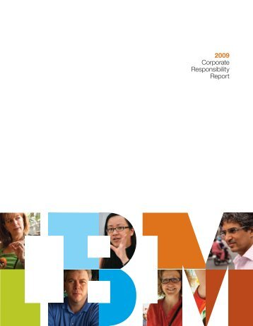 IBM 2009 Corporate Responsibility Report