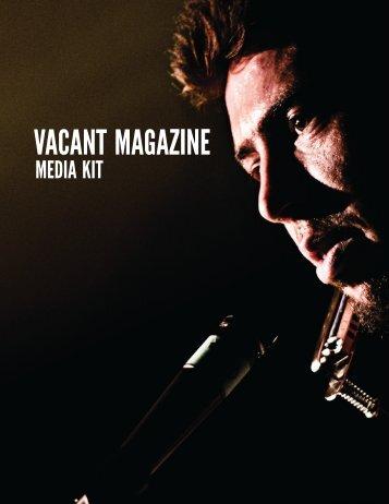 Vacant Magazine