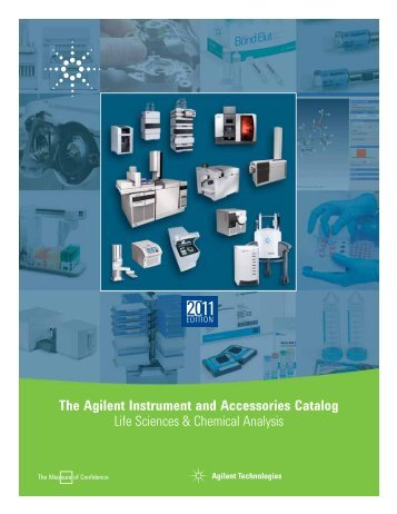 The Agilent Instrument and Accessories Catalog Life Sciences ...