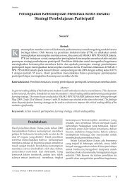 Hal. 1-14 Peningkatan Keterampilan Membaca Kritis ... - BPK Penabur