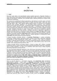 IX. SAŽETAK - Hrvatski zavod za mirovinsko osiguranje