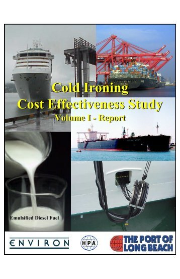 Cold Ironing Cost Effectiveness Study - Port of Long Beach