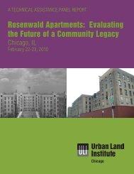 Rosenwald Apartments - ULI Chicago - Urban Land Institute